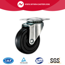 Light Duty Black Rubber Industrial Caster