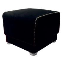 Black Hotel Ottoman Hotel Furniture