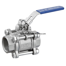 3PC Encapsulated Sealing Ball Valve