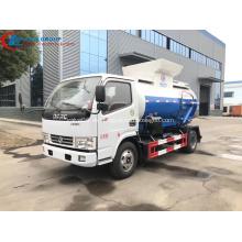 Venta de fábrica Barato Dongfeng 4CBM Food Waste Truck