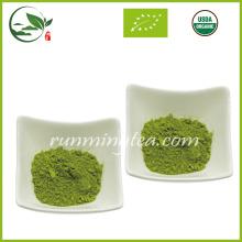 Polvo de té verde Matcha de la primavera orgánica