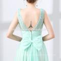 Sexy elegante precioso bordado sin mangas Sexy Tulle hermosos vestidos de baile de graduación 2016