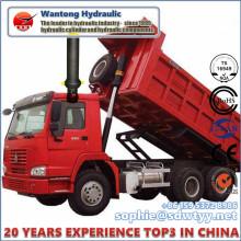 Cilindro hidráulico de la etapa de Musti para el camión volquete de la explotación minera