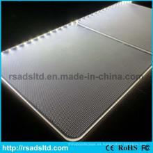 Panel de guía de luz de grabado del Laser del acrílico por mayor
