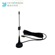 OEM Supplier for 1090mhz SMA Connector Antenna Yetnorson 2.4G GSM Antenna with Magnetic Base supply to Spain Supplier
