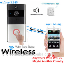 HD IP Video Door Phone Wireless Sensitivity Editable PIR Monitor Long Battery Life Wifi SIP Door Phone