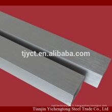 Tube en aluminium sans soudure rond / carré en aluminium prix du tube par kg
