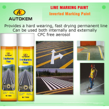 Aerosol Linha Marking Paint, Road Marking Paint, 750ml Line Marker