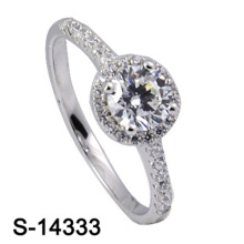 Hochwertige Modeschmuck 925 Sterling Silber Ehering
