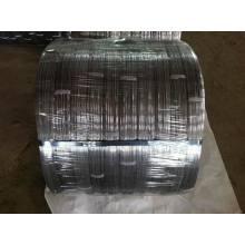 Fio de aço oval galvanizado de alta tensão