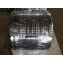 Fil d'acier ovale galvanisé haute résistance