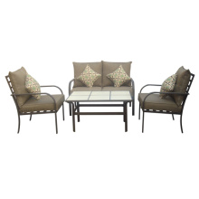 Outdoor/Garden furniture 4pc chat set with cushion