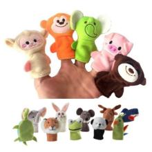 Vários tipos de brinquedos fantoche de mão