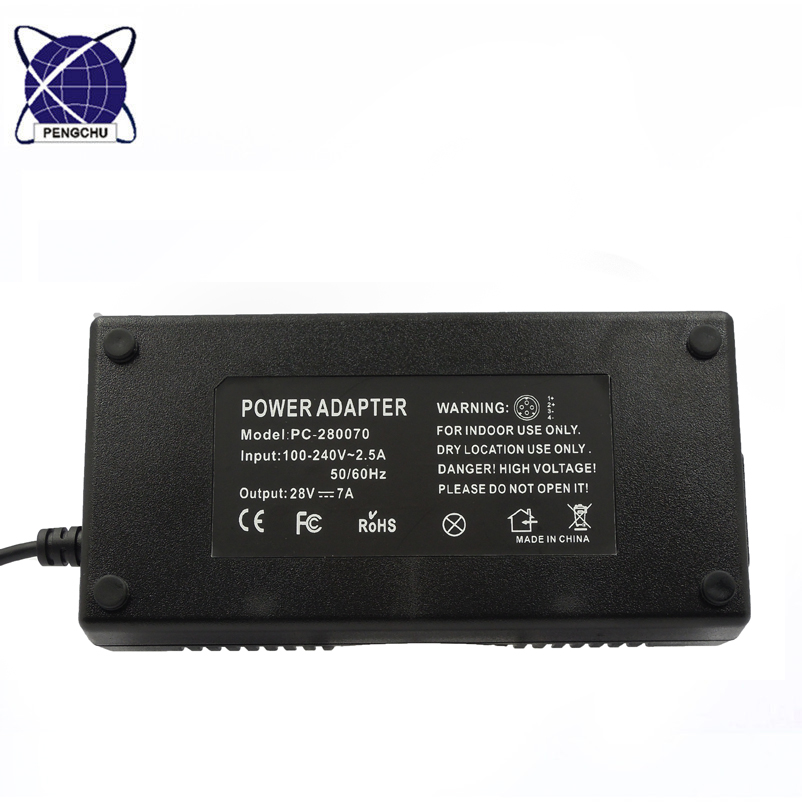28V 7A power adpater