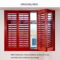 Innere Lindenholz- und PVC-Verschluss mit 63mm und 89mm Klinge aus China