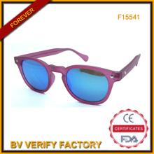 Cadre rond rétro, femmes lunettes de soleil Cp cadres (F15541)