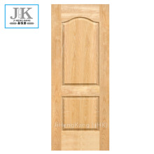 JHK-Two Panels Natural Wood Birch MDF Door Skin