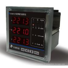Ex4610 Compteur d'énergie électrique multifonction triphasé