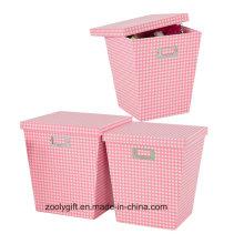 Caja de papel de almacenamiento de muñeca de juguete al por mayor con tapa Caja de almacenamiento de embalaje