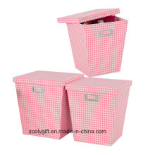 Wholesale Toy Doll Storage Paper Box with Lid Home Packing Storage Boxes Set