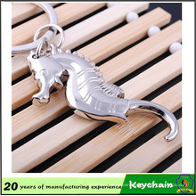 2016 Popular New Style 3D Metal Hippocampus Keychain