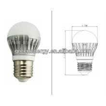 Lámpara Led no regulable, Bombilla Led, A45, Base E27, 5W, 120 grados