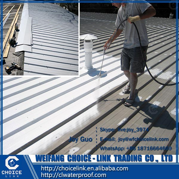 for building double component polyurethane waterproofing coating