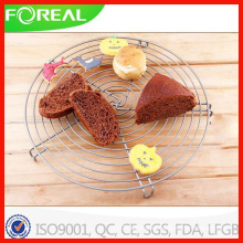 Round Chrome Metal Wire Cooling Rack