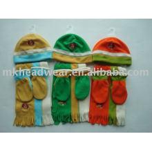 children polar fleece sets for winter