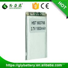 PL365590 3.7v 1800mah células de bateria de polímero de lítio