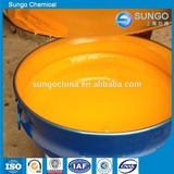 yellow pigment color paste for flexible foam