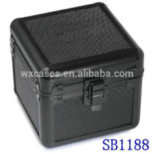 Luxus Aluminium einzigen Uhrenbox mit einem Kissen innerhalb von China-Hersteller