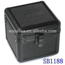 caixa de relógio único de alumínio de luxo com um travesseiro dentro do fabricante de China