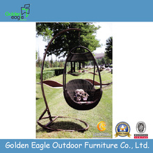 UV-skyddande Patio Furniture Rattan Swing