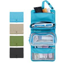 Sacos de produtos de higiene pessoal removíveis impermeáveis, homens e sacos de produtos de higiene pessoal de viagem ao ar livre da mulher