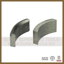 Diamante núcleo segmento de bits para o betão de ferro 105mm - 150mm