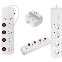 Prise de courant électrique avec barrette d'alimentation USB