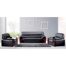 Alta calidad buen precio madera último diseño oficina sofá conjunto