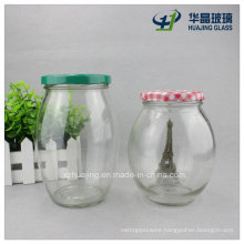 700ml 24oz Ball Vat Shaped Pickle Food Storage Glass Jar