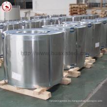 DIN En10202 Estándar 5.6 / 5.6gsm Revestimiento Rollos de hojalata para latas de atún Utilizado