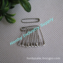 Fashion Silver Tone 22mm U Shaped French Safety Pin