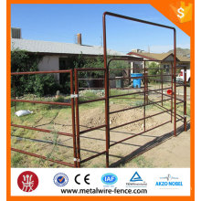 Anping factory pvc coated livestock farm fence panel