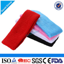 Venta al por mayor personalizada Sweatbands y diadema y Sport Headband Manufacturer
