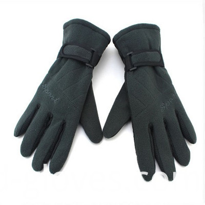Polar Fleece Gloves green