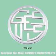 Etiqueta amistosa respetuosa del medio ambiente del bolso, insignia del metal, accesorios de la aleación del cinc