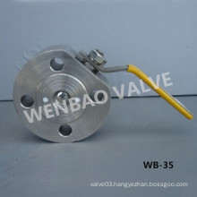 Monoblock Compact Wafer Type Ball Valve with Manual Handle