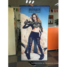 Digitaldruck-Gewebe, das kundenspezifische hängende Fahnen annonciert