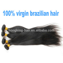 wholesale cheap unprocessed 100% brazilian virgin hair extensions