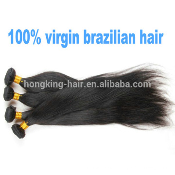 wholesale cheap unprocessed 100% brazilian virgin hair extensions