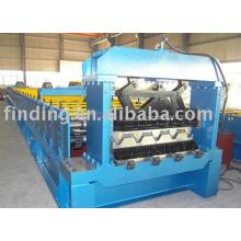 Floor decking forming machine